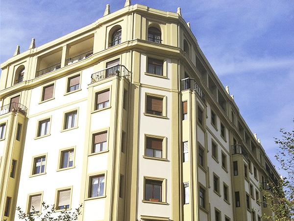 Rehabilitación de fachadas en Gipuzkoa