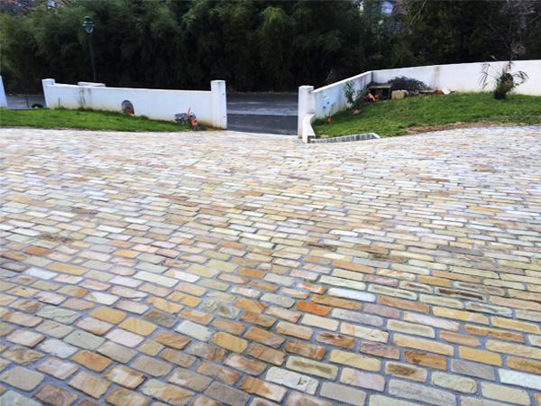 Realización de pavimientos y suelos de piedra