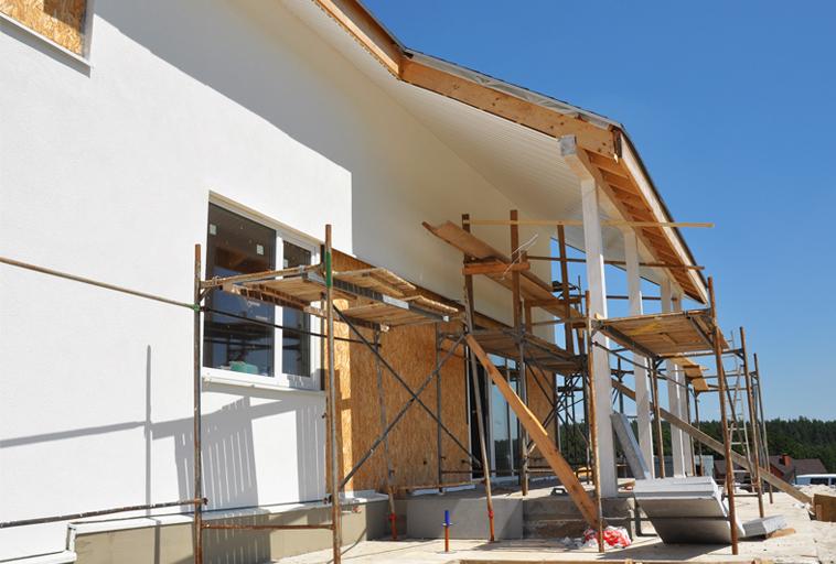 Trabajos rehalizados en fachadas y tejados