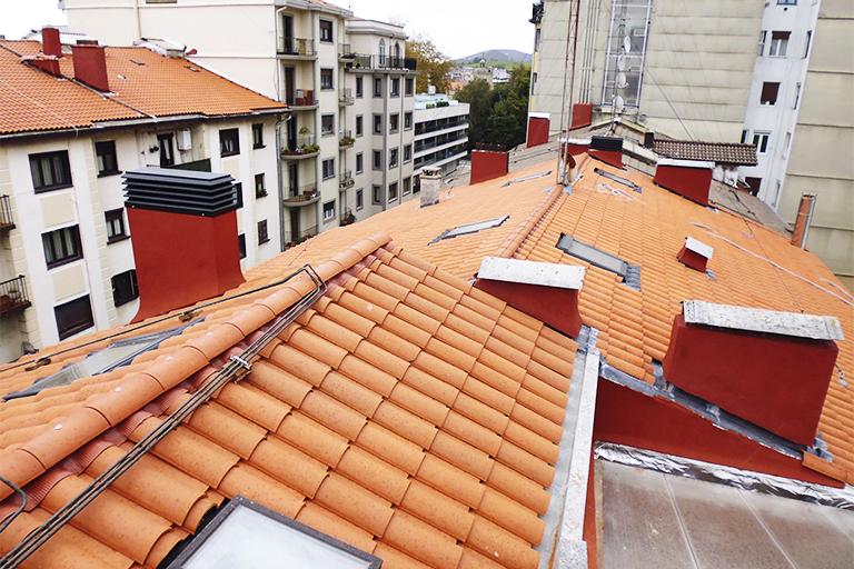 Empresa de renovación de tejados en Irun