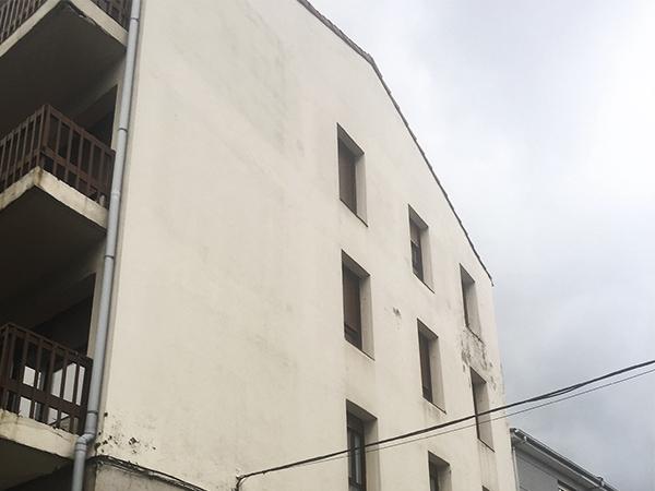 Restauración de fachada en Irun