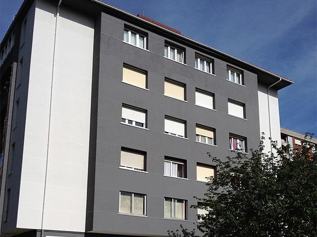 Rehabilitación estructura edificio en Irun