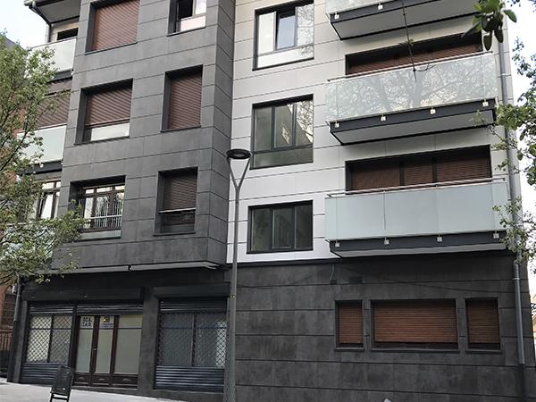 Rehabilitación fachada Irun