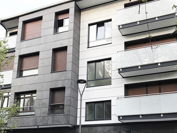 Rehabilitación de fachadas en Irun