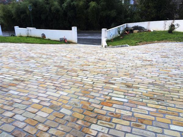 Servicio de piedra para suelos