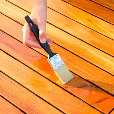 Lasur protector de madera exterior